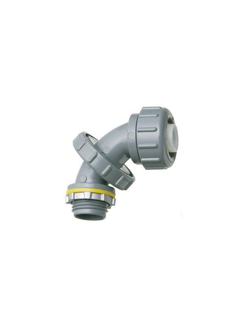 Arlington NMLT5090 Zero to 90 1/2 Inch PVC Liquidtight Connector