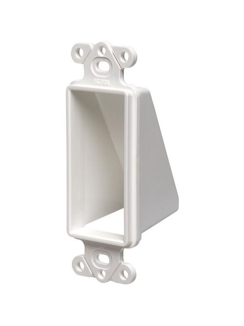 Arlington CED1 White Low Voltage Entry/Exit Hood