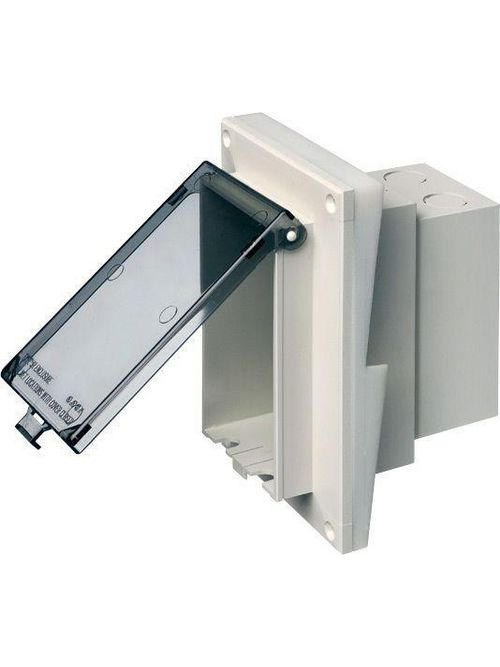 Arlington DBVR141C 1/2 Inch Clear In-Box