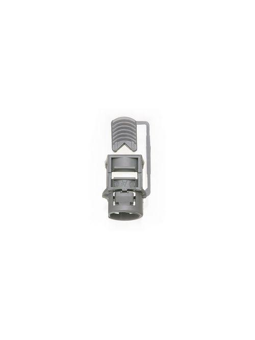 "Arlington NM842 PVC Non-Metallic Cable Connector with 3/4"" Knockout"