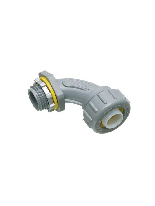 Arlington NMLT9050 1/2 Inch PVC Liquidtight 90 Degree Connector