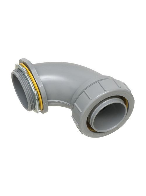 Arlington NMLT90200 2 Inch PVC Liquidtight 90 Degree Connector