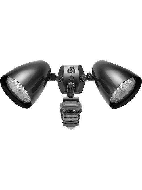 RAB STL360HB 120 Volt 1000 W 360 Degrees 5-5/8 x 7 Inch Bronze Outdoor Lighting Sensor with Bullet Flood Kit