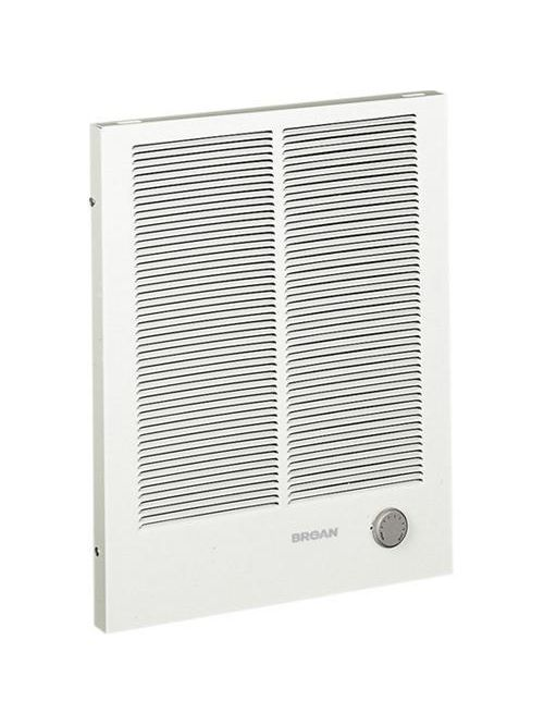 Broan 198 8.3 Amp 240 Volt 2000 W 16-3/8 x 1-1/4 x 20-1/4 Inch White Grille Wall Heater