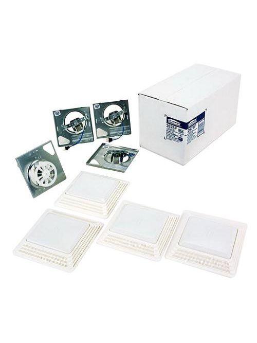 Broan 2679F 2 Amp 70 CFM 3.5 Sones 100 W White Polymeric Grille Ventilation System Finish Pack