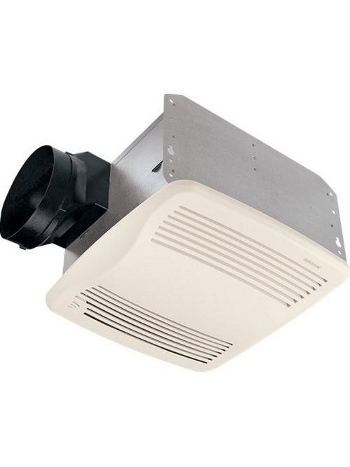 Broan QTXE110S 0.3 Amp 100 CFM 0.7 Sones 12-7/8 x 13-3/4 Inch Grille Ventilation Fan