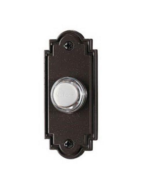 Broan PB15LBR 1-1/4 x 3 Inch Nutone Push Button