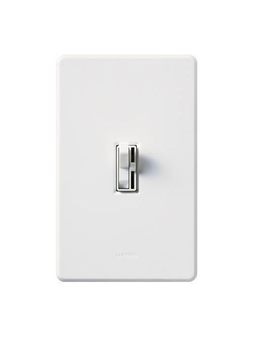 Lutron AYLV-600PH-WH 120 VAC 600 VA White 1-Pole Magnetic Low Voltage Preset Dimmer