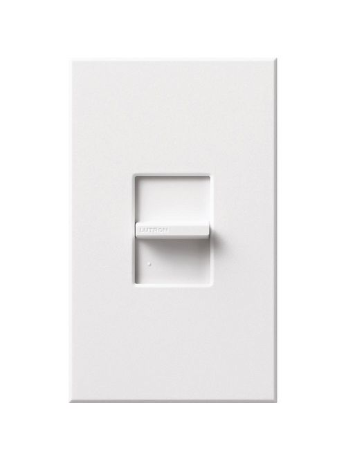 Lutron Electronics NTF-10-WH 120 VAC White 1-Pole Fluorescent Slide Dimmer