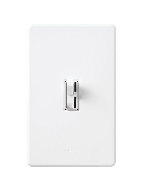 Lutron Electronics AYLV-600P-WH 120 VAC 600 VA White 1-Pole Magnetic Low Voltage Preset Dimmer