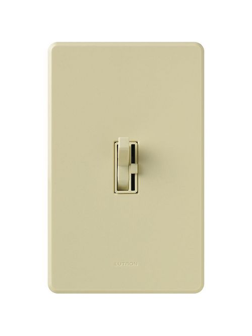 Lutron AY-603PH-IV Ariadni 600 W 3-Way Ivory Clamshell Dimmer