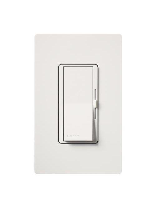 Lutron DV-600PH-WH Diva Incandescent 600 W White Clamshell Dimmer
