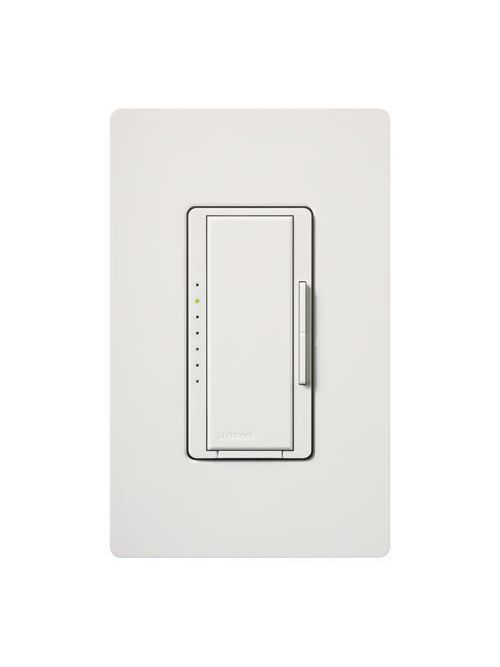 Lutron MA-600H-WH 600 W 120 VAC White 1-Pole/Multi-Location Incandescent/Halogen Dimmer Switch