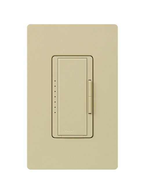 Lutron Electronics MA-1000H-IV 1000 W 120 Volt Ivory 1-Pole/Multi-Location Incandescent/Halogen Digital Fade Dimmer