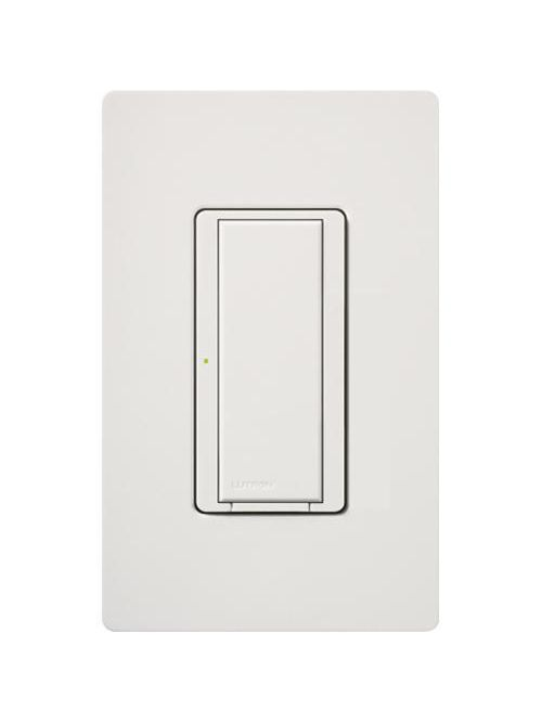 Lutron MRF2-8S-DV-WH 1-Pole/Multi-Location 8 Amp 120/277 VAC White Wall Dimmer Switch