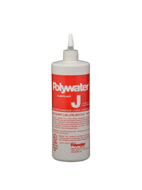 American Polywater J-35 1 Quart Squeeze Bottle 7.5 to 9 pH Cable Lubricant