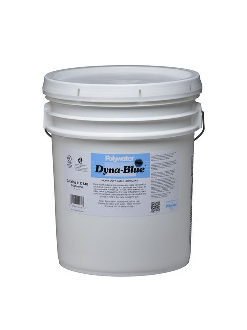 American Polywater D-640 5 Gallon Pail 6.5 to 8.5 pH Cable Lubricant