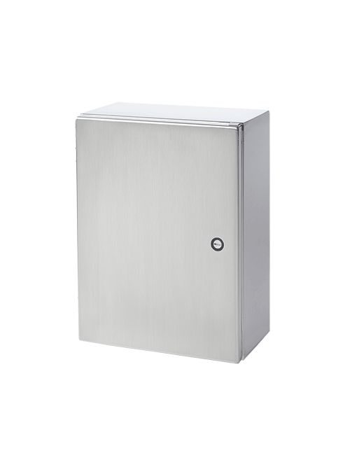Hoffman CSD20166SS 20 x 16 x 6 Inch 16 Gauge 304 Stainless Steel NEMA 4X 1-Door Wall Mount Enclosure