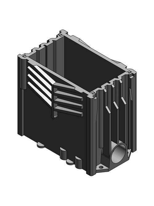 Carlon E976RFB Rectangular Floor Box Base Assembly
