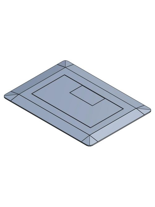 Carlon E9761S Single Slate Cover Assembly