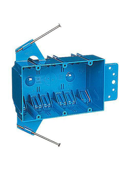 Carlon B344AB 3-Gang 44 In Zip Box with Flange