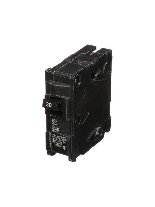 Siemens MP130 1-Pole 120 VAC 30 Amp 10 kA Plug-In Circuit Breaker