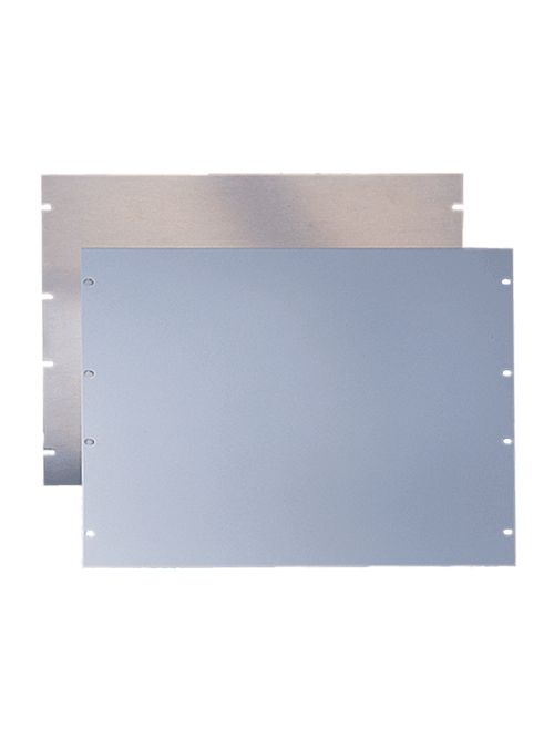 Hoffman P19RP7UP 19 Inch Steel 7-Unit Rack Panel