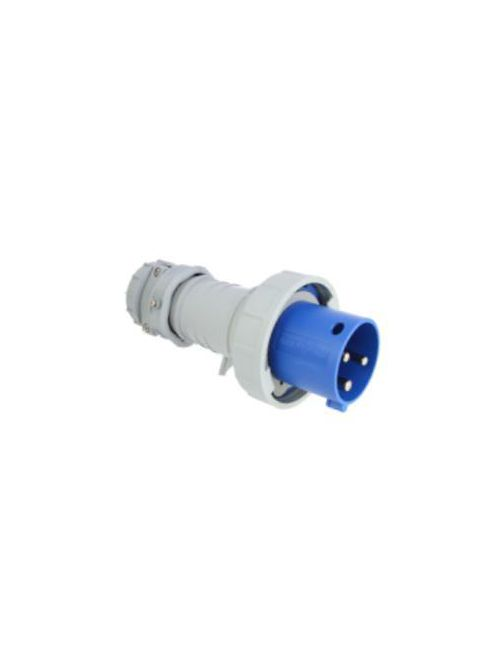 Arrow Hart Wiring AH460P9W 60 Amp 250 Volt 3-Phase 3-Pole 4-Wire Watertight IEC Pin and Sleeve Plug