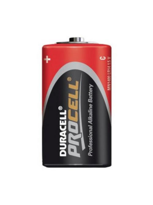 Duracell MN1400 CopperTop Cylindrical 1.5 Volt C Battery