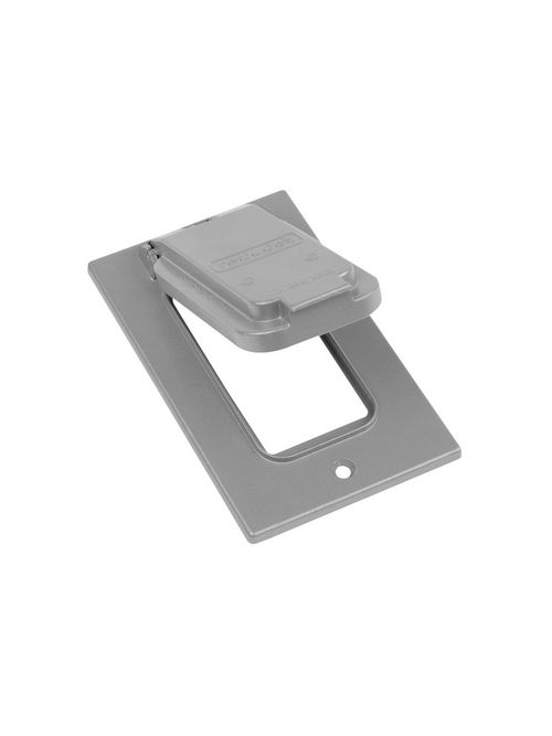 Red Dot CCGV Dry-Tite GFCI Vertical Device Mount Cover