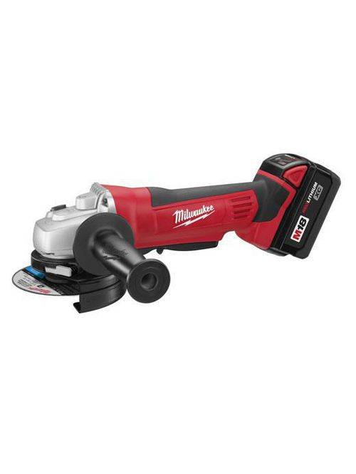 "Milwaukee 2680-22 M18#8482; Cordless LITHIUM-ION 4-1/2"" Cut-Off / Grinder Kit w/Battery & Charger"