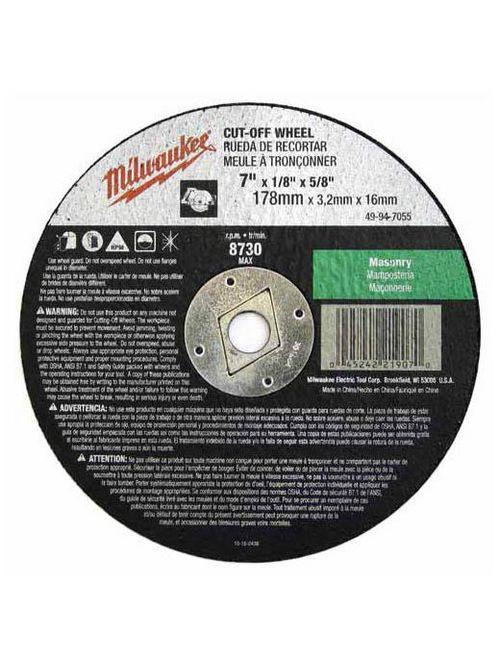 Milwaukee Tool 49-94-7050 7 x 3/32 x 5/8 Cutting Wheel