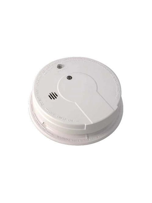 Kidde Home Safety 21006378 85 dB 120 Volt 9 Volt Battery AC/DC Ionization/Photoelectric Wire-In Smoke Alarm
