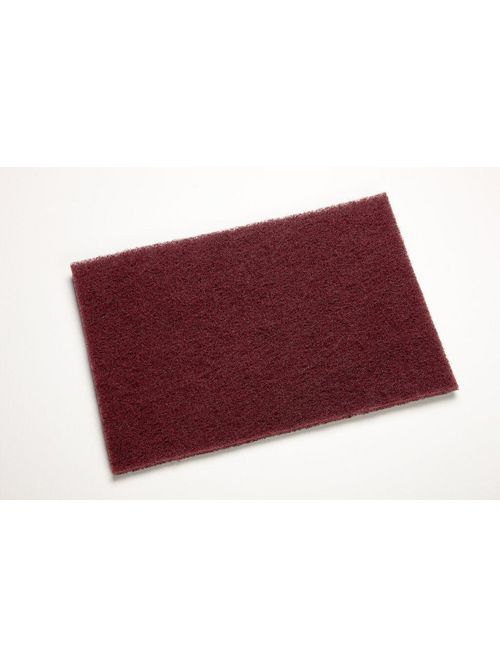 3M 7447 60/Case Maroon Medium Cleaning Pads