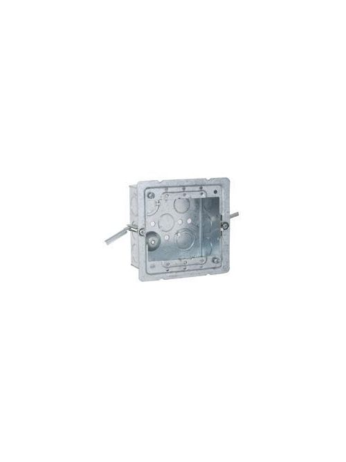 RACO 232-OW 4 x 4 x 2-1/8 Inch 30.3 In Pre-Galvanized Steel Box/Ceiling/Wall Mount Welded Square Box with Pigtail