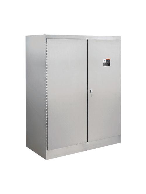 Hoffman A726018SSFSD 72.06 x 60.06 x 18.06 Inch 12 Gauge 304 Stainless Steel NEMA 12 Free Stand Floor Mount Enclosure
