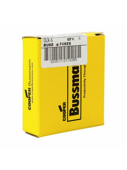Bussmann Series GLR-5 Small Dimension Fast Acting Fuse