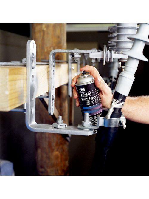 3M Electrical 16-501 16 oz Coating Zinc Spray
