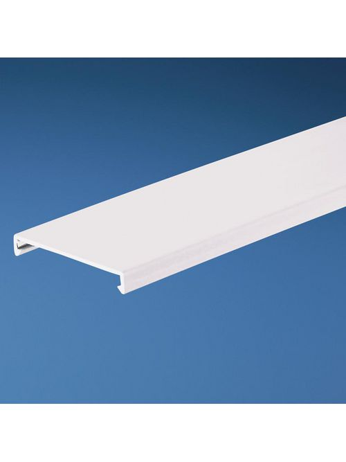 Panduit C2.5WH6 2.5 Inch x 6 Foot White PVC Duct Cover
