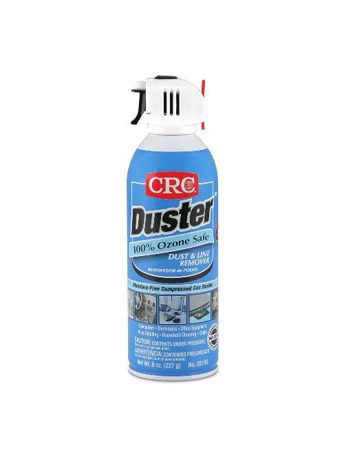 CRC Industries 05185 16 oz Aerosol Trigger Moisture Free Dust and Lint Remover