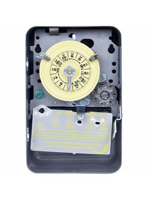 Intermatic T171 NEMA 1 125 VAC 60 Hz 40 Amp SPST Electromechanical Time Switch