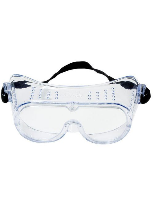 3M Industrial Safety 40650-00000-10 Clear Uncoated Lens Impact Goggles