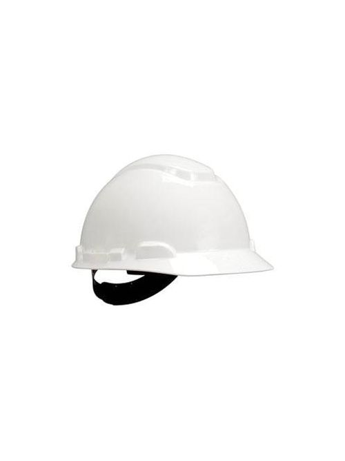 3M Industrial Safety H-701P 4-Point Pinlock Suspension White Hard Hat
