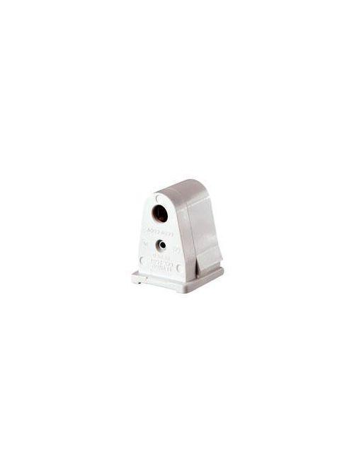 Leviton 2537 600 Volt 660 W White Thermoset Slide-On Lock-On Pedestal 1-Pin Standard Fluorescent Lampholder