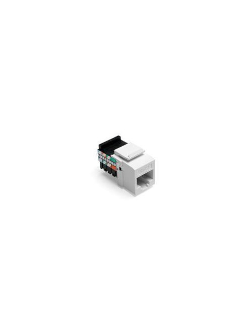 Leviton 41108-RW5 Category 5 White Plastic Snap-In 8-Position 8-Conductor UTP Jack Connector