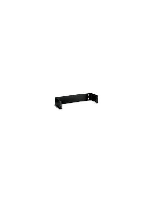 Leviton 49251-W62 6 x 3.5 Inch 2-Rack Unit Wall Mount Hinged Cable Management Bracket