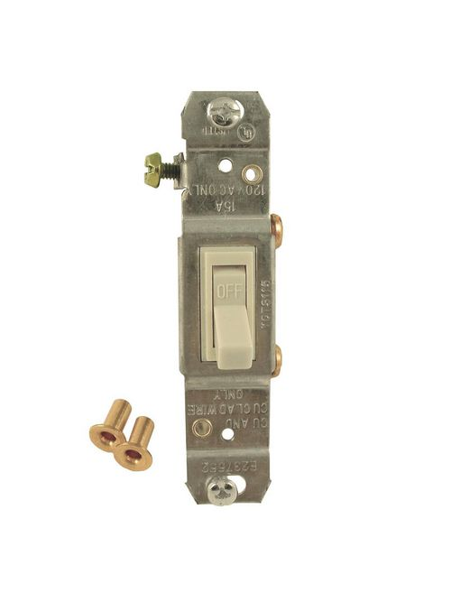 RACO 5201-0 TOGGLE SWITCH SP 125V 1