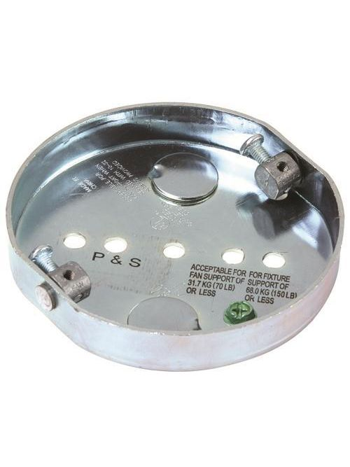 Pass & Seymour 77700 0.625 Inch 8 In Steel Direct Mount Fan Support Box
