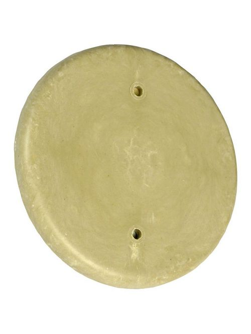 Allied Moulded Products 9315 4-1/2 Inch Round Box Blank Cover