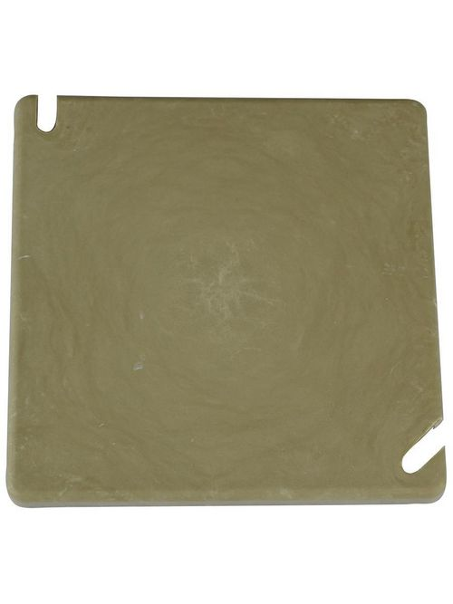 Allied Moulded Products 9344 4 Inch Fiberglass Square Electrical Junction Box Blank Cover